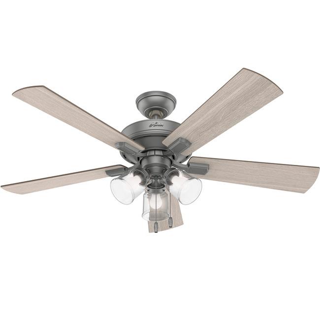 Crestfield Ceiling Fan with Light  by Hunter Fan