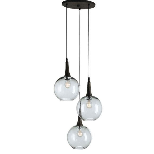 Beckett Trio Pendant by Currey and Company | 9969-CC