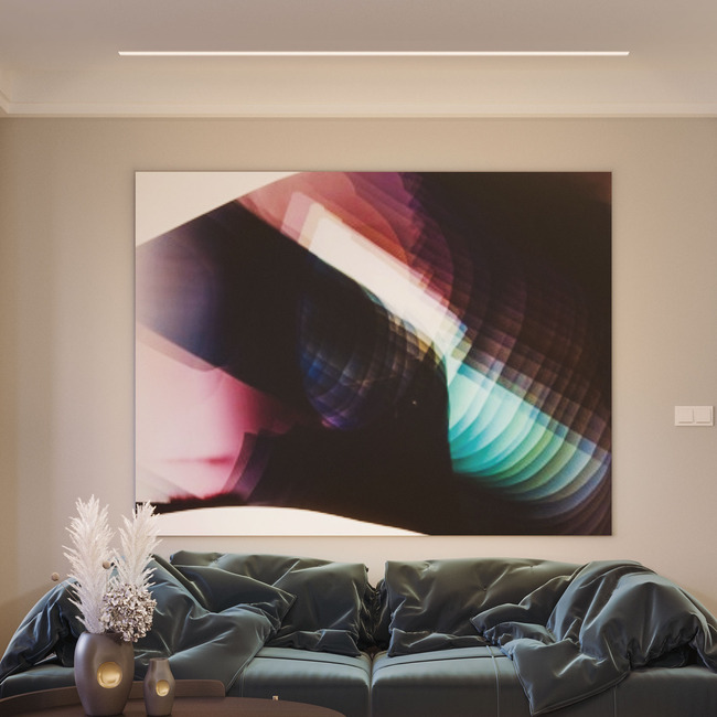 Reveal Wall Wash 2 24VDC Plaster-In LED System  by PureEdge Lighting