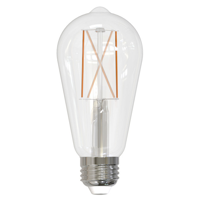 ST18 Med Base Filament 8.5W 120V 2700K 90CRI 2-PACK  by Bulbrite