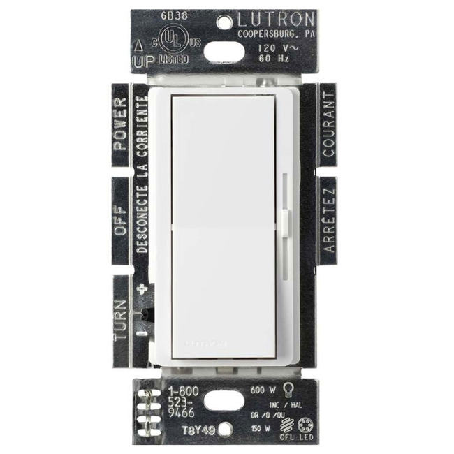 Diva Reverse Phase Electronic Low Voltage Dimmer  by Lutron