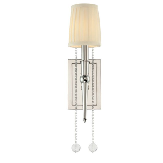 Laurel Wall Light by Hudson Valley Lighting | 6001-PN