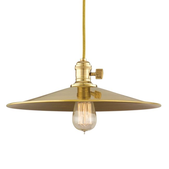 Heirloom MM1 Pendant by Hudson Valley Lighting | 8002-AGB-MM1