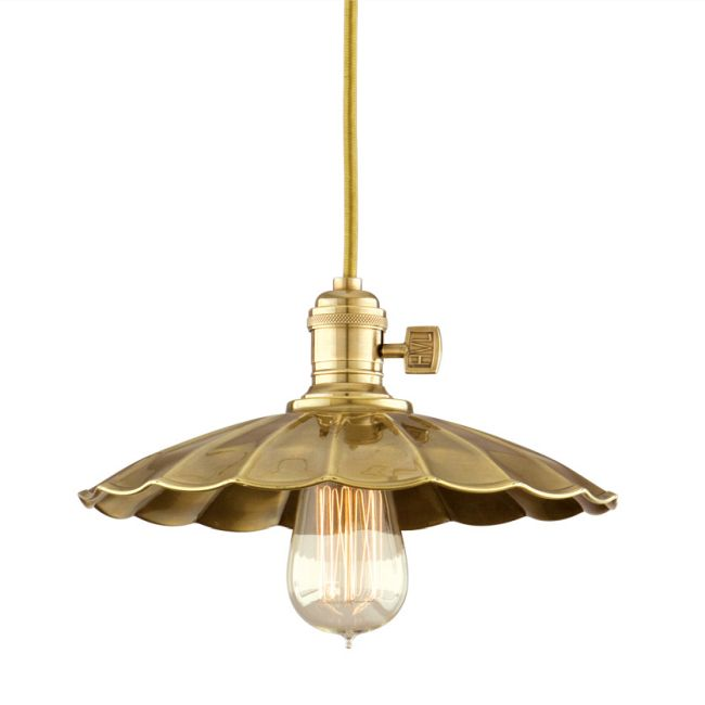 Heirloom MS3 Pendant by Hudson Valley Lighting | 8002-AGB-MS3