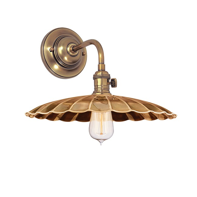 Heirloom MS3 Wall Light by Hudson Valley Lighting | 8000-AGB-MS3
