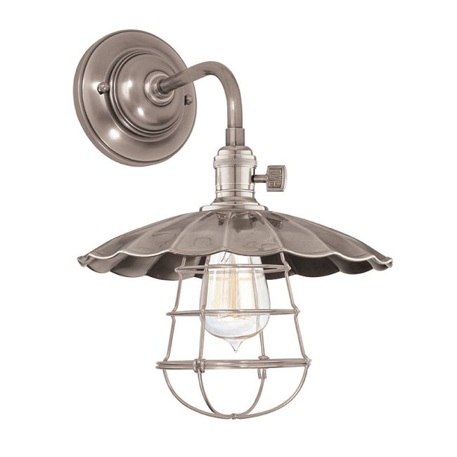 Heirloom MS3-WG Wall Light by Hudson Valley Lighting | 8000-HN-MS3-WG
