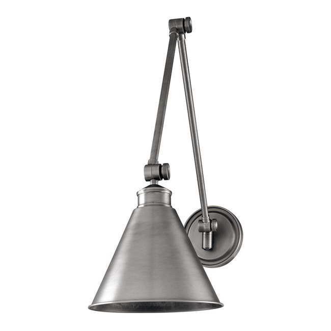 Exeter Metal Shade Wall Light by Hudson Valley Lighting | 4721-AN