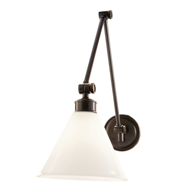 Exeter Glass Shade Wall Light by Hudson Valley Lighting   4731-OB