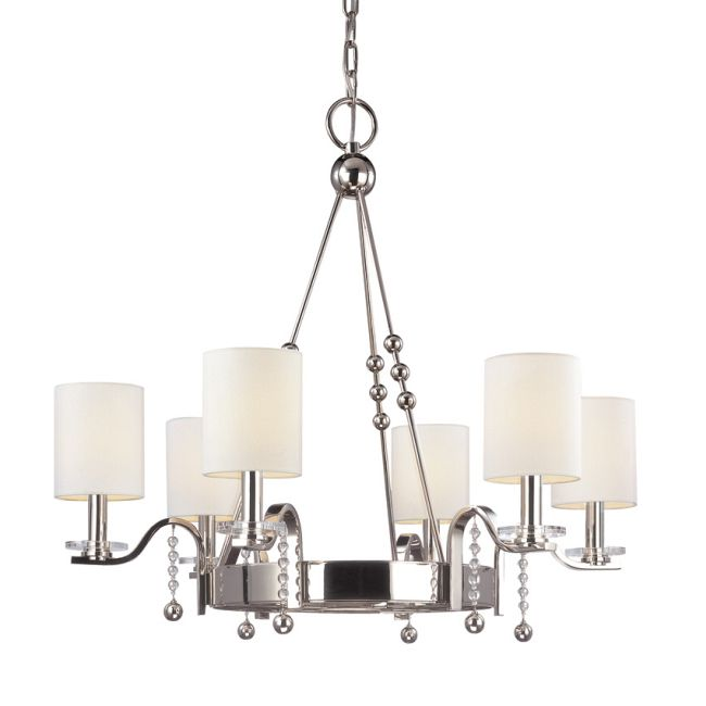Bolton Chandelier by Hudson Valley Lighting | 8166-PN