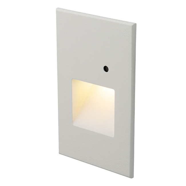 120V LED Anti-Microbial Vertical Step Light with Photocell  by WAC Lighting