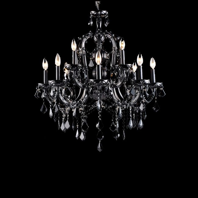 Onyx Lane Chandelier by Avenue Lighting | HF1039-BLK