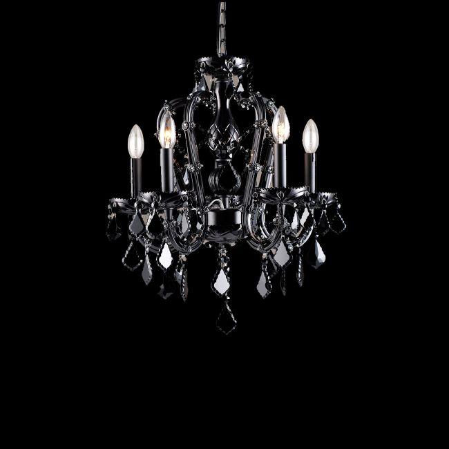 Onyx Lane Chandelier by Avenue Lighting | HF1037-BLK