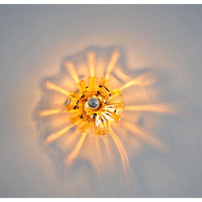 Celestial Wall Sconce by Viz Glass | WIR-4576NAS