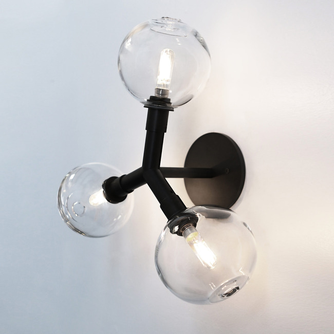 Stem 3X Wall Sconce / Ceiling Light  by SkLO