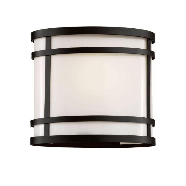 Cityscape Oval 8 Patio Light by Trans Globe | 40201 BK
