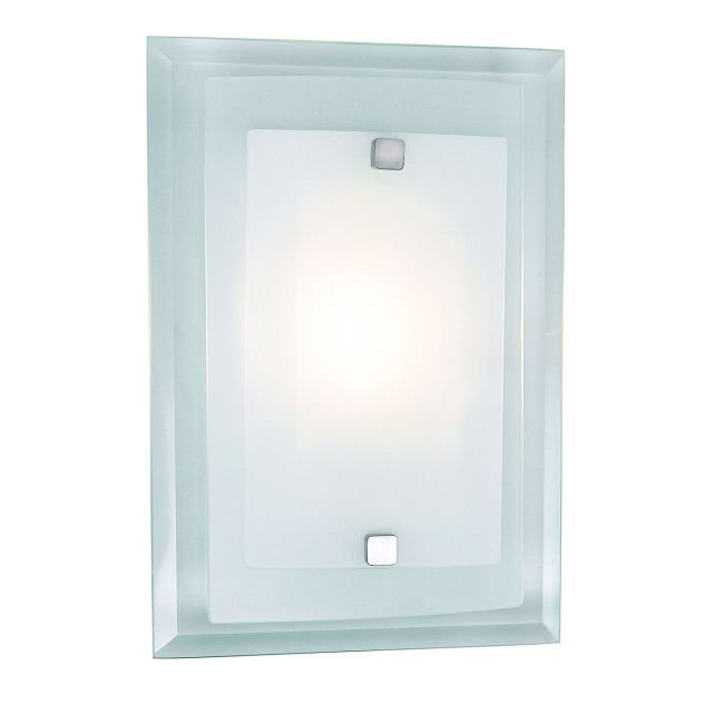 Beveled Rectangle Wall Sconce by Trans Globe | MDN-845