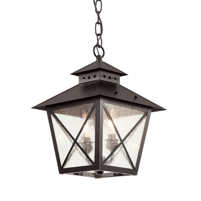 Chimney Hanging Lantern by Trans Globe | 40174 BK