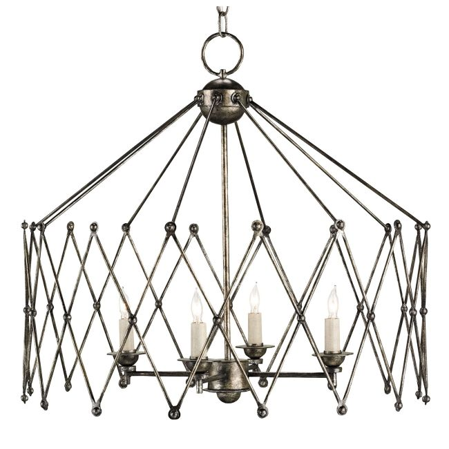 Accordion Chandelier by Currey and Company | 9998-CC