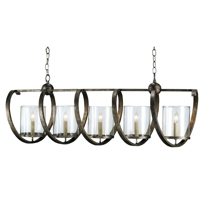 Maximus Rectangle Chandelier by Currey and Company | 9915-CC