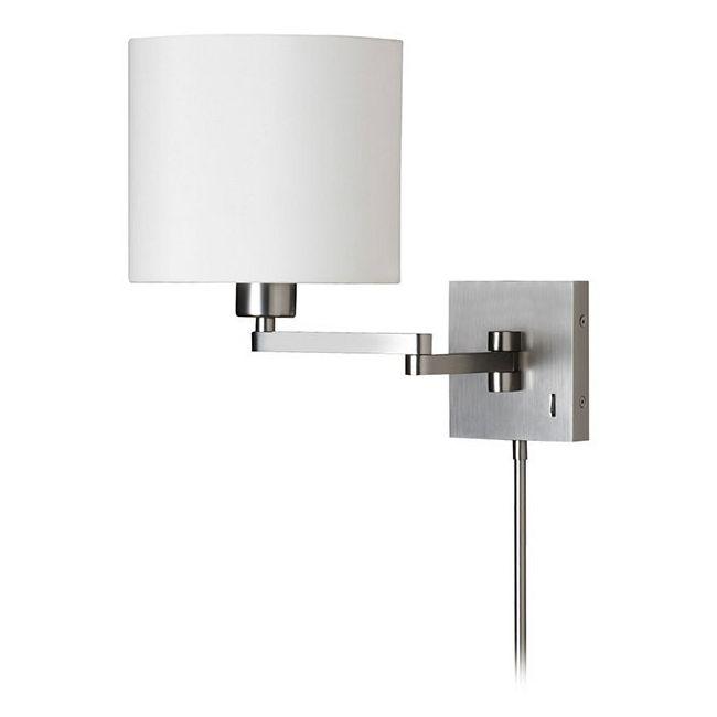Cast Metal Double Arm Swing Wall Light by Dainolite | DMWL7713-SC