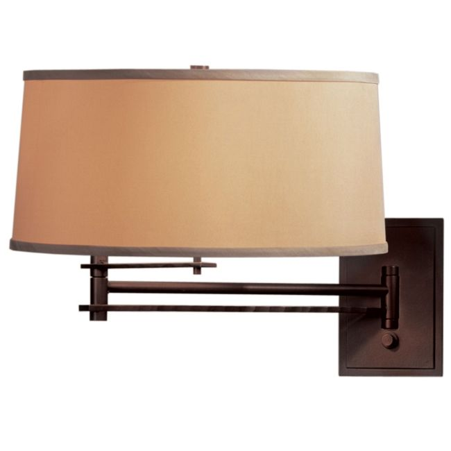 Forged Bar Swing Arm Wall Light by Hubbardton Forge | 209301-1000