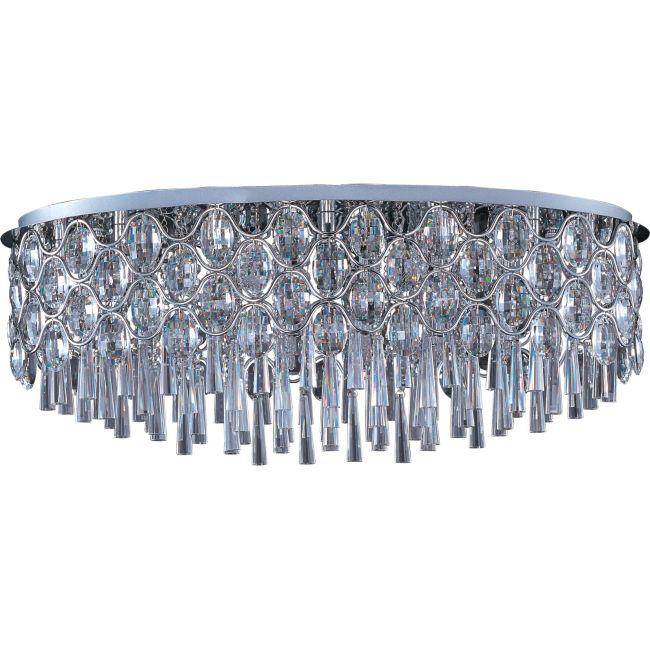 Jewel Oval Flush Mount by Maxim Lighting | 39928BCPC