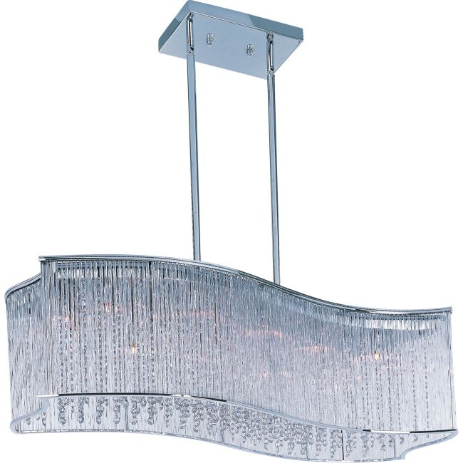 Swizzle Linear Pendant by Maxim Lighting | 39707CLPC