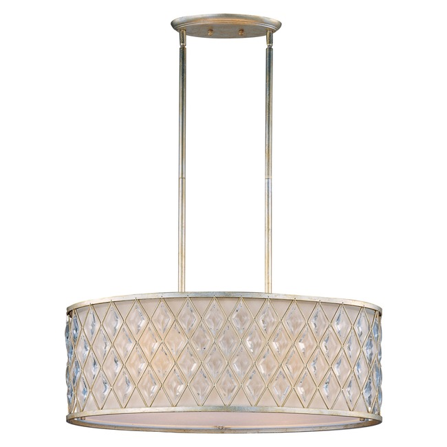 Diamond Oval Pendant by Maxim Lighting | 21456OFGS