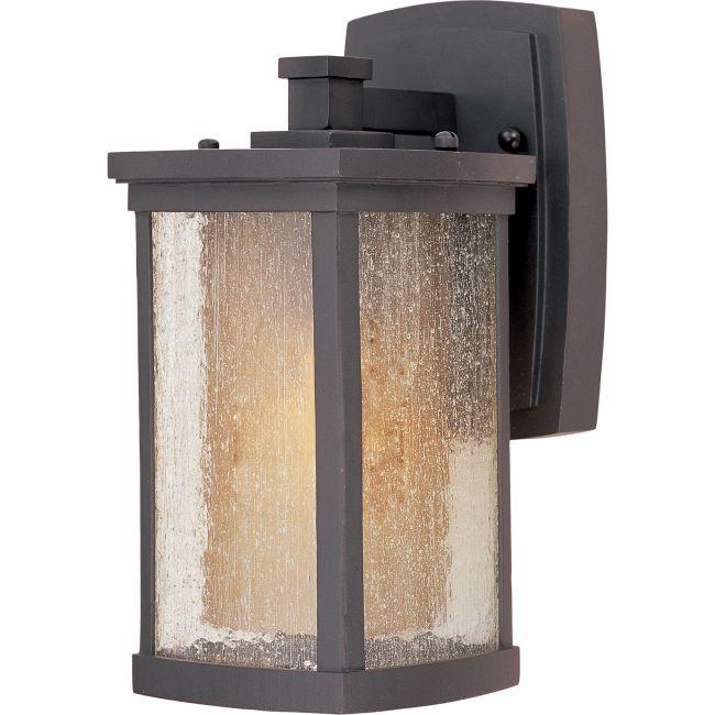 Bungalow Outdoor Wall Light by Maxim Lighting | 85652CDWSBZ