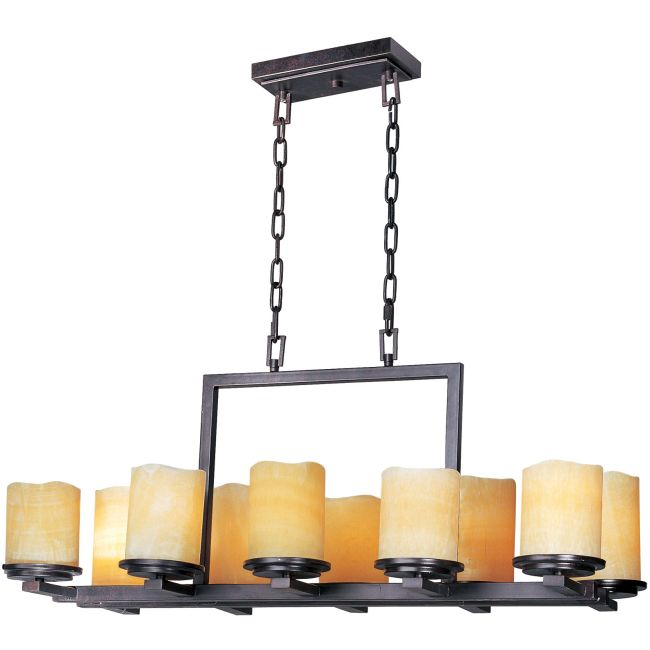 Luminous Rectangle Chandelier by Maxim Lighting | 21149SCRE