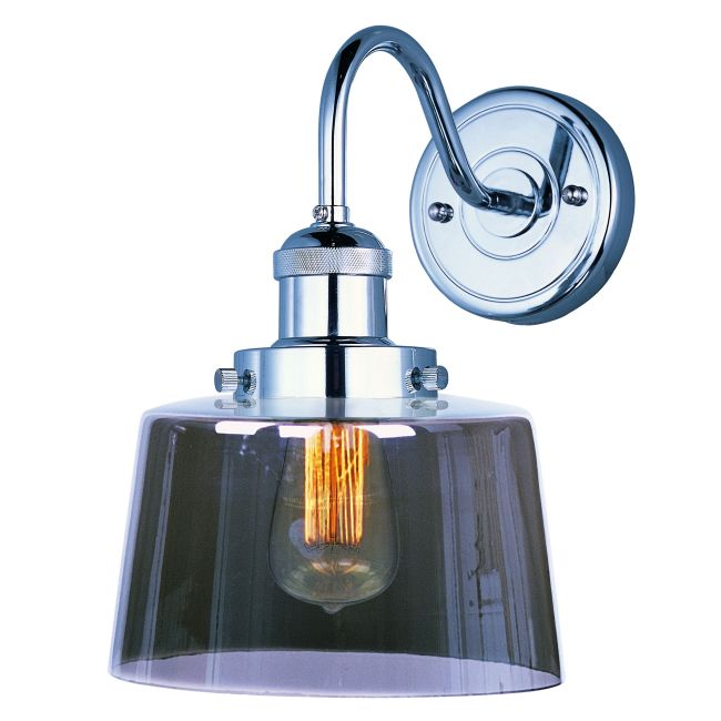 Mini Hi-Bay 25089 Wall Light by Maxim Lighting | 25089MSKPN