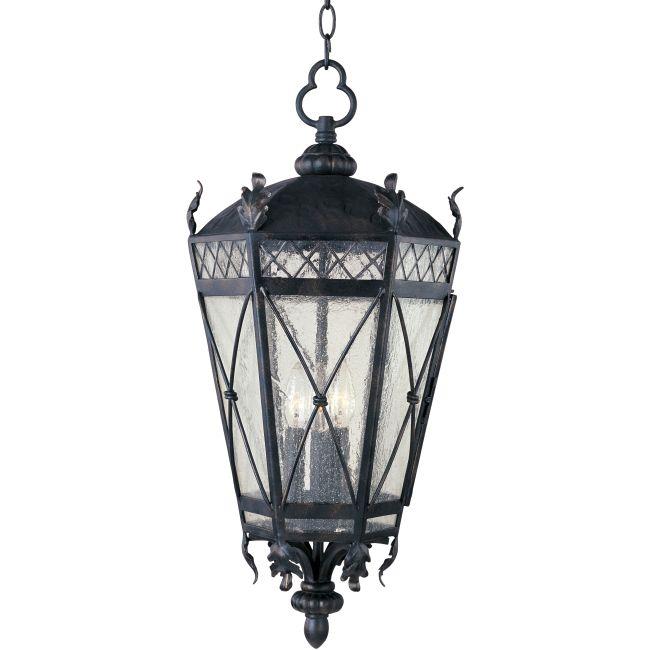 Canterbury Outdoor Hanging Lantern by Maxim Lighting | 30459CDAT