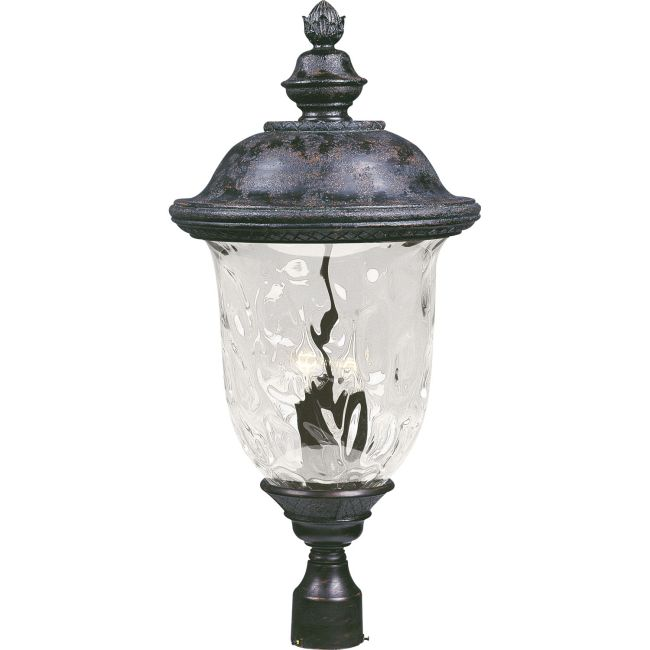 Carriage House VX Outdoor Post Mount by Maxim Lighting | 40421WGOB