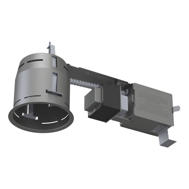 Low Voltage 3.5IN Remodel Magnetic Non-IC Housing  by Contrast Lighting