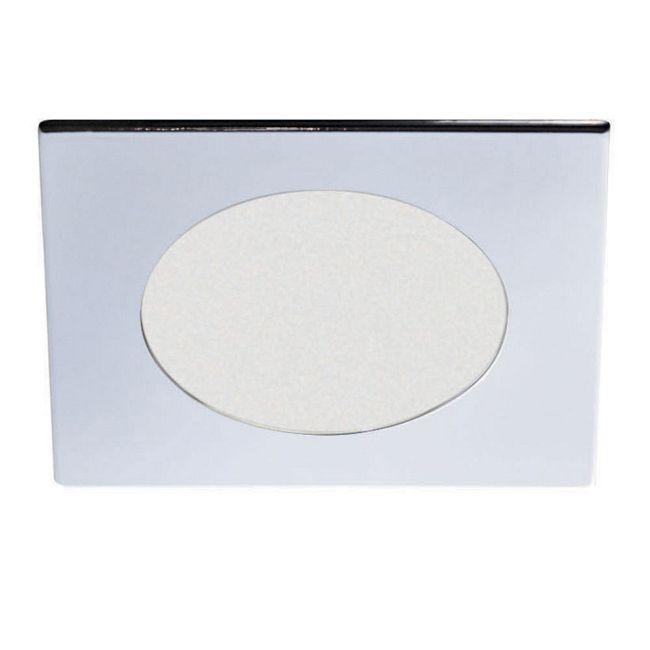 Low Voltage 4IN SQ Adjustable Shower Trim  by Contrast Lighting