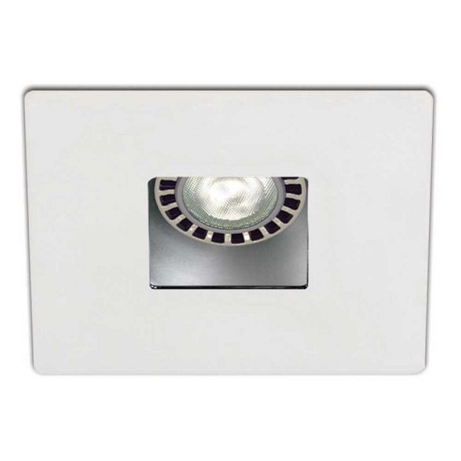 Low Voltage 3.5IN SQ Regress Downlight Trim  by Contrast Lighting