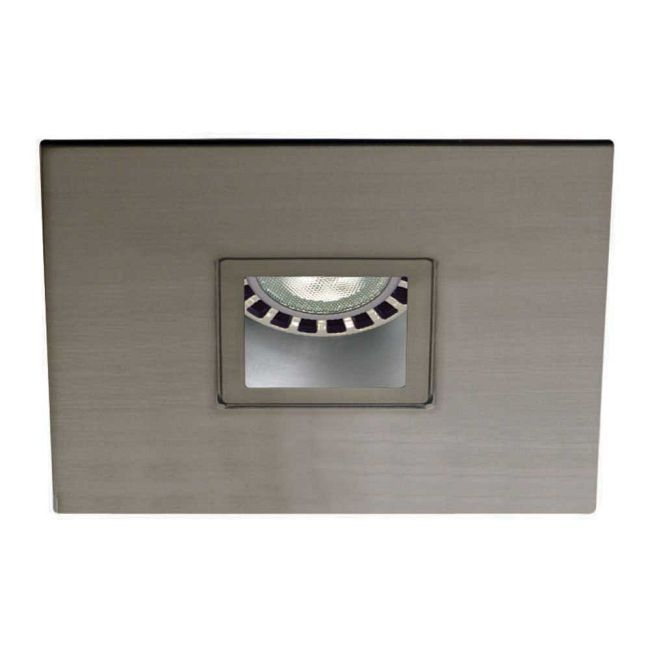 Low Voltage 3.5IN SQ Regressed Pinhole Trim  by Contrast Lighting