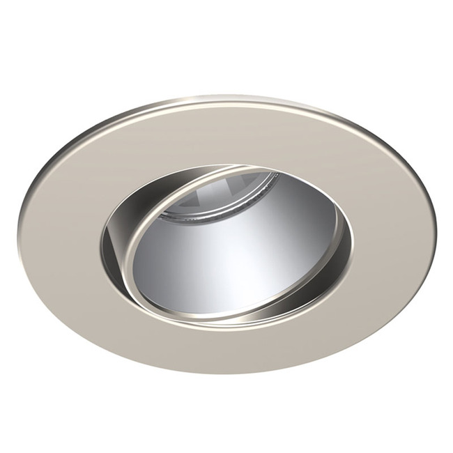 Low Voltage 3.5IN RD Regressed Trim with Adjust Refl  by Contrast Lighting