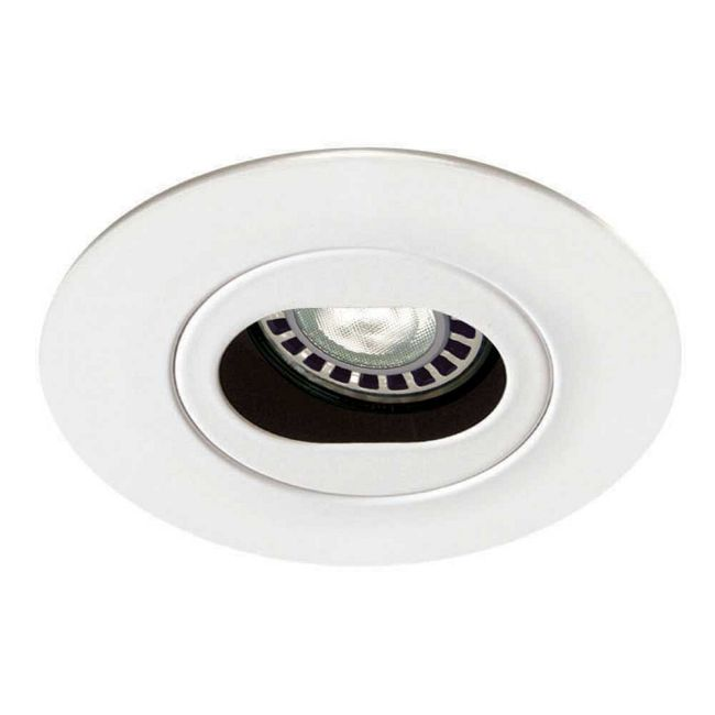 Low Voltage 3.5IN RD Slot Adjustable Trim  by Contrast Lighting