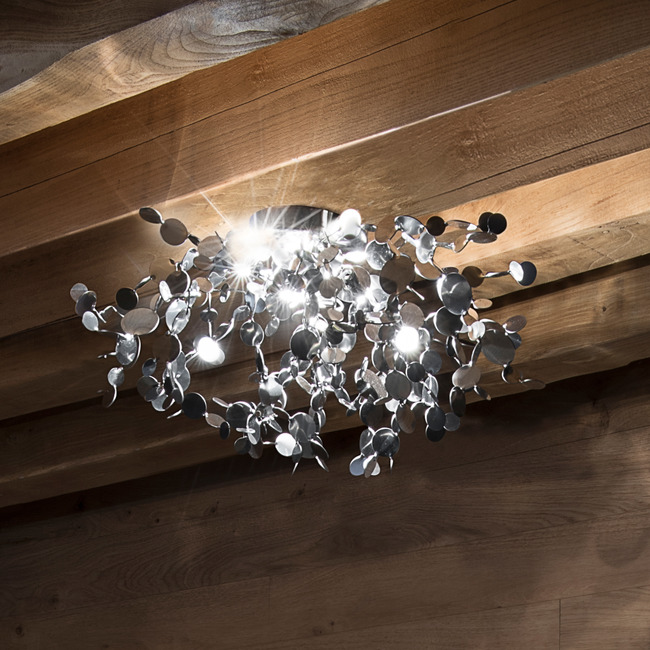 Argent Ceiling Light Fixture  by Terzani USA