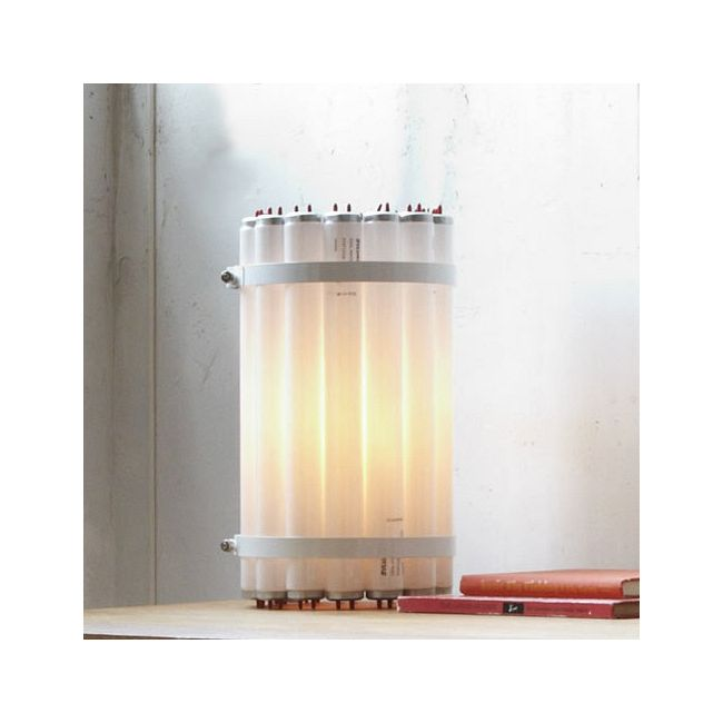 Recycled Tube Light Table Lamp by Castor Design | TL-T