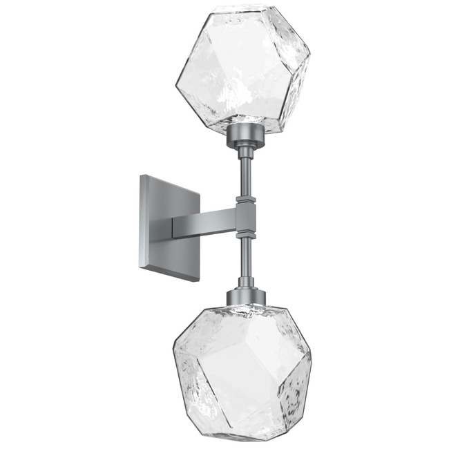 Gem Double Wall Sconce  by Hammerton Studio