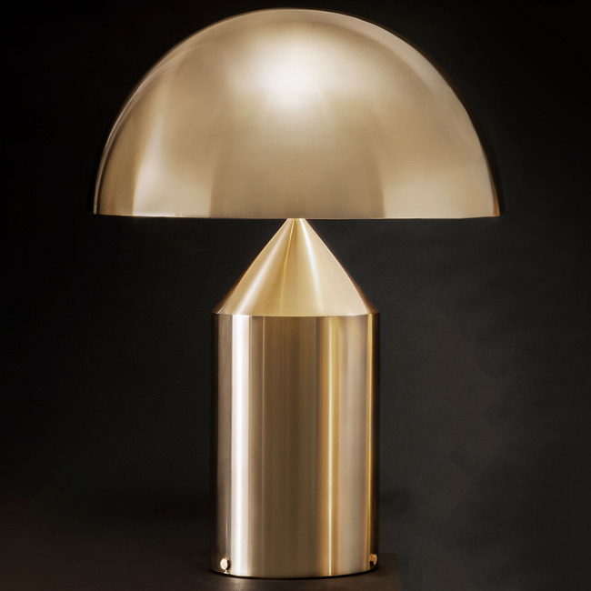 Atollo Table Lamp 233 by Oluce Srl | ATOLLO 233/ORO