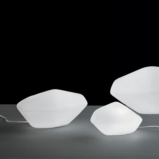 Stone of Glass Table Lamp by Oluce Srl | STONE OF GLASS 202