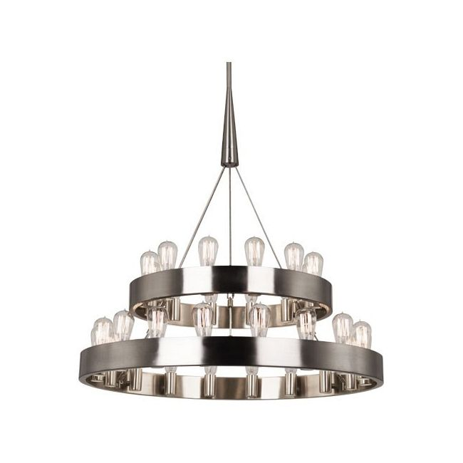 Candelaria Two-Tier Chandelier by Robert Abbey | RA-B2099
