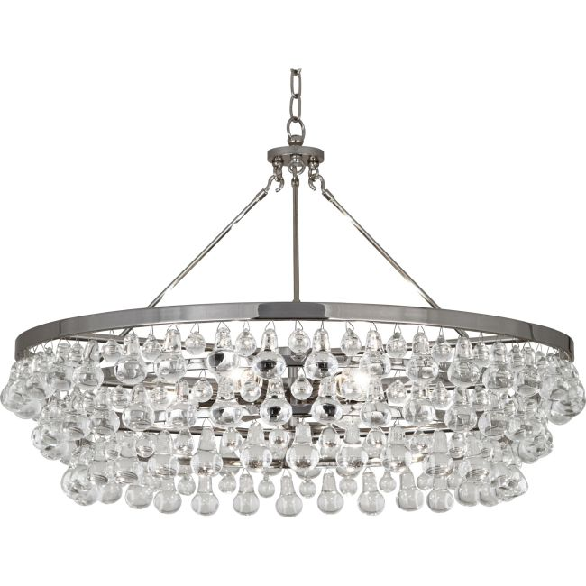 Bling Large Chandelier  by Robert Abbey