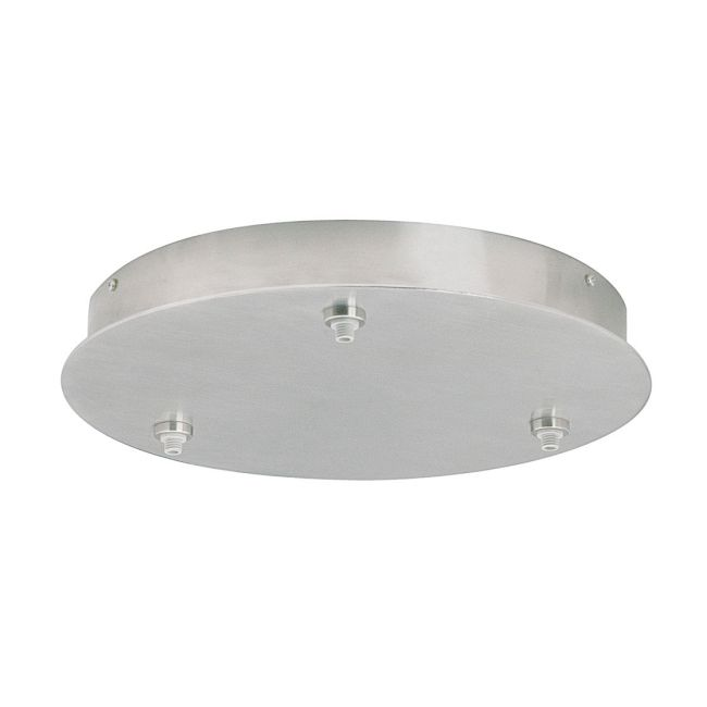 Freejack 3 Port Round Canopy by Tech Lighting | 700FJR3C