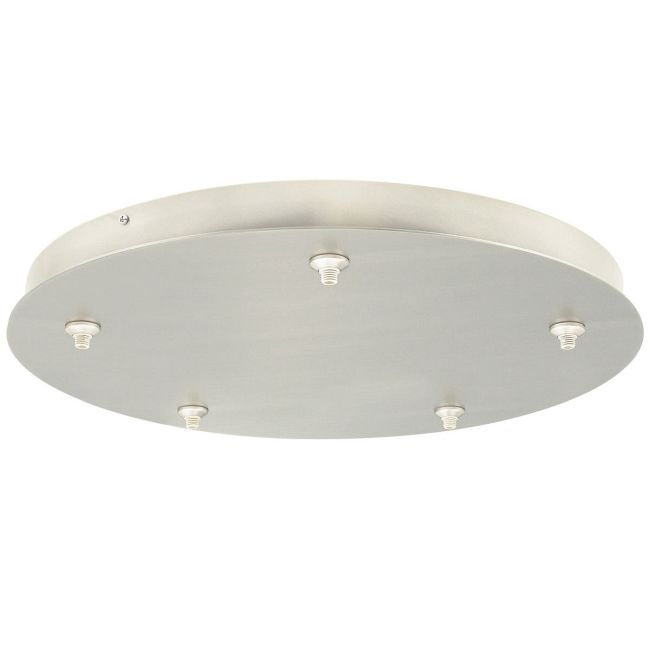 Freejack 5 Port Round Canopy by Tech Lighting | 700FJR5C