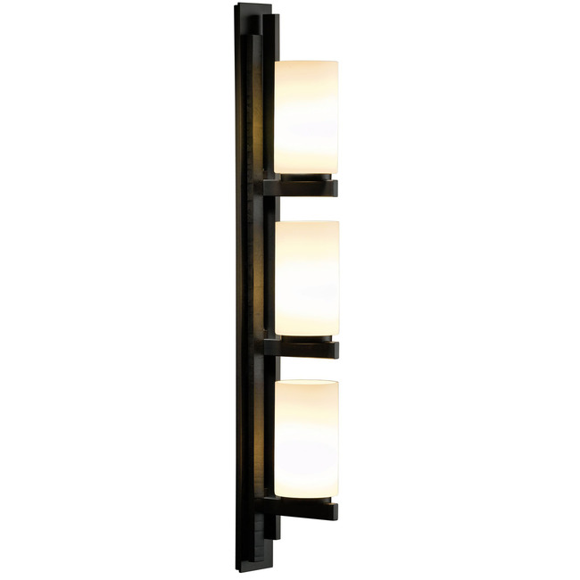 Ondrian Right Vertical 3 Light Bathroom Vanity Light by Hubbardton Forge | 206309-1030