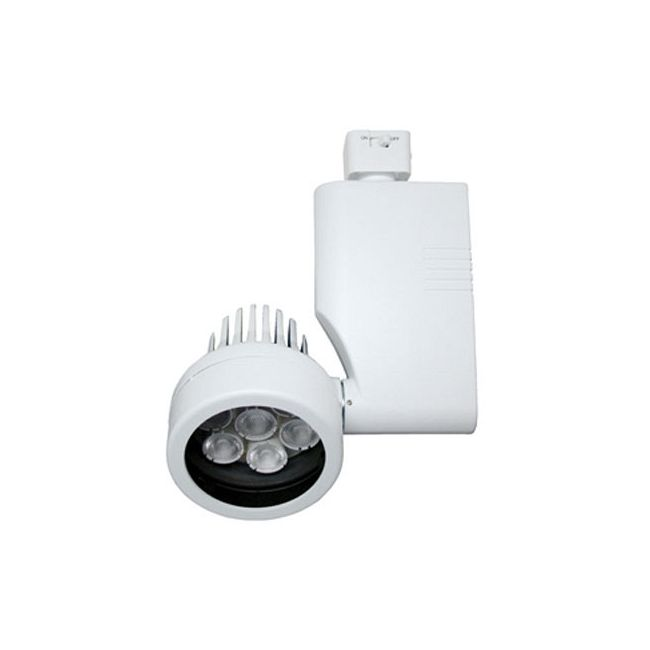 CTL802818L Optica 18W 25Deg LED Track Fixture 120V by ConTech | CTL802818LM27D-P